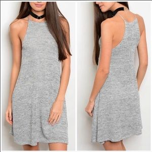 NEW💐 Gray Knit tank dress